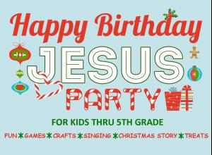 Birthday Party For Jesus Vineyard Community Church Of Logansport